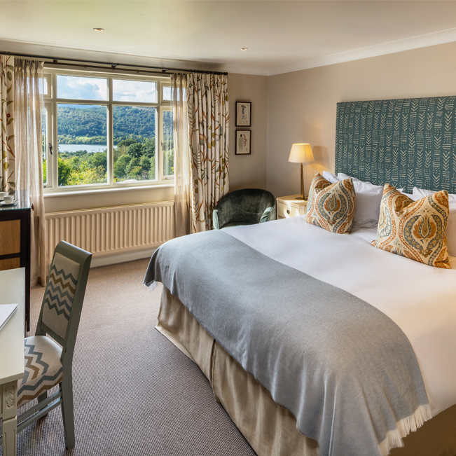 Linthwaite House - Lake View Room